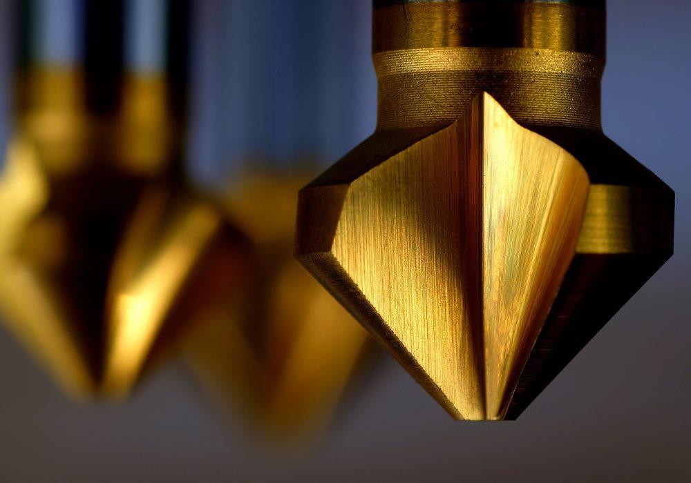 Senker HSS neunzig Grad für Metallbearbeitung